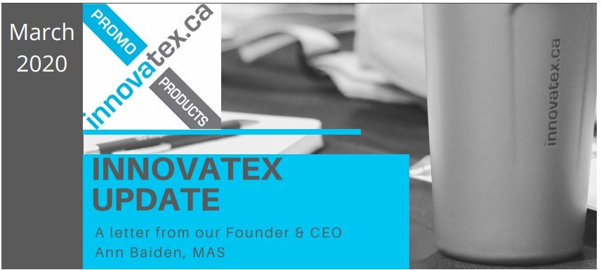 Innovatex March 2020 Update