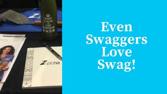 Even Swaggers Love Getting Swag!